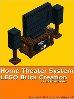 Home Theater System - LEGO Brick Instructions by 1st Foundations