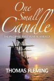 Book Cover Image. Title: One Small Candle:  The Pilgrims' First Year in America, Author: Thomas Fleming