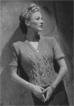 Knit One Purl Two - Vintage Kniiting Patterns