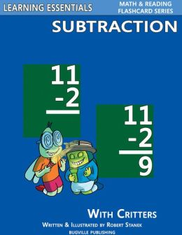 Subtraction Flash Cards: Subtraction Facts for Kindergarten, Grade 1, Grade 2 (Learning Essentials Math & Reading Flashcard Series)