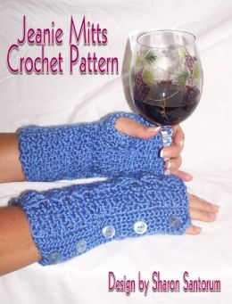 Jeanie Mitts Crochet Pattern