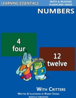 Number Flash Cards: Numbers and Critters (Learning Essentials Math & Reading Flashcard Series)
