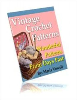 A Work of Art - 20 Vintage Crochet Patterns