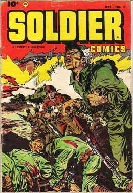 Soldier Comics Number 11 War Comic Book