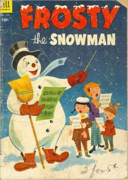 Frosty the Snowman Number 514 Childrens Comic Book