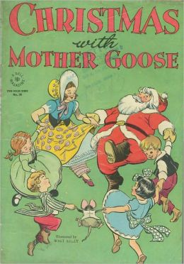 Christmas With Mother Goose 90 Childrens Comic Book