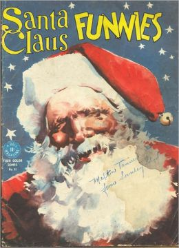 Santa Claus Funnies 91 Christmas Comic Book