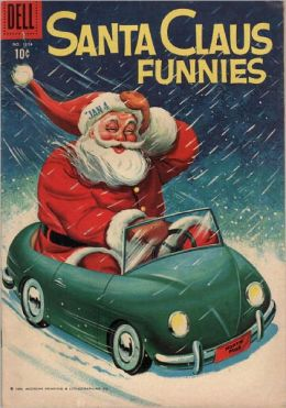 Santa Claus Funnies 1154 Christmas Comic Book