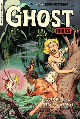 Ghost Comics Number 8 Horror Comic Book