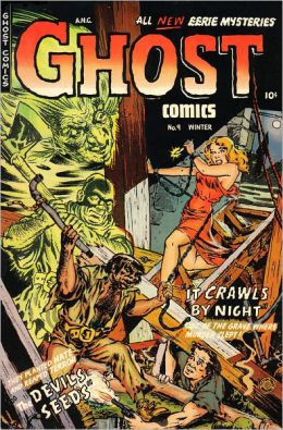 Ghost Comics Number 9 Horror Comic Book
