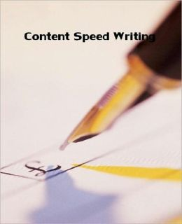 Self Improvement on Content Speed Writing - The critical factor in the process of writing content is time..
