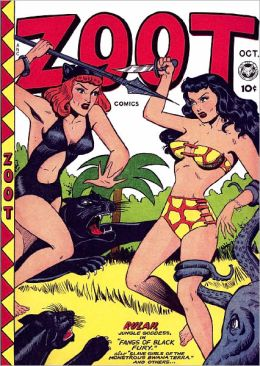 Zoot Comics Number 9 Action Comic Book