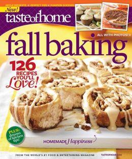 Taste of Home Fall Baking