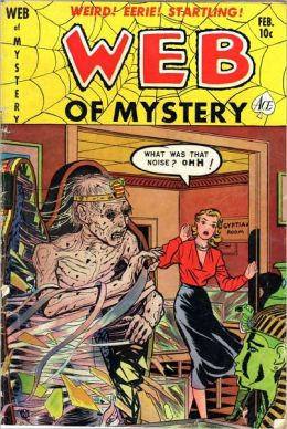 Web Of Mystery Number 7 Horror Comic Book