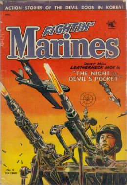 Fightin' Marines Number 11 War Comic Book