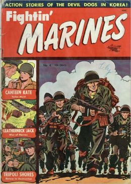 Fighting Marines Number 4 War Comic Book