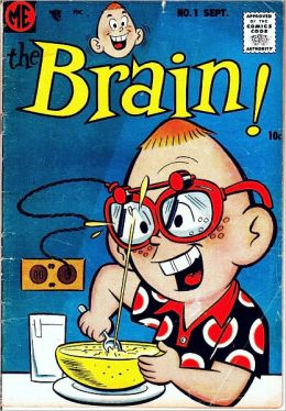 The Brain Number 1 Funny Comic Book
