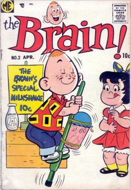 The Brain Number 2 Funny Comic Book