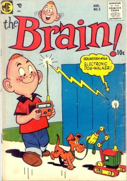 The Brain Number 3 Funny Comic Book