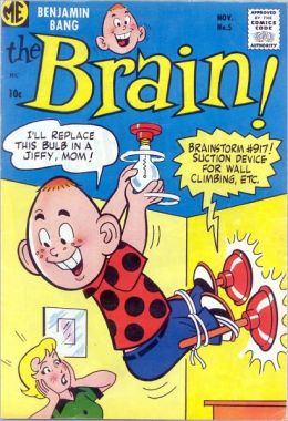 The Brain Number 5 Funny Comic Book