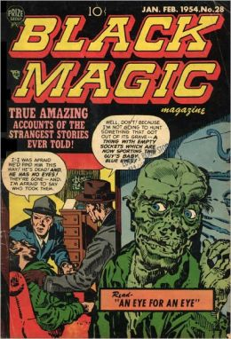 Black Magic Number 28 Horror Comic Book