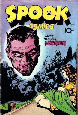 Spook Comics Number 1 Horror Comic Book