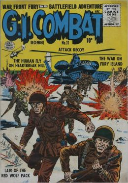 GI Combat Number 31 War Comic Book
