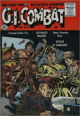 GI Combat Number 36 War Comic Book