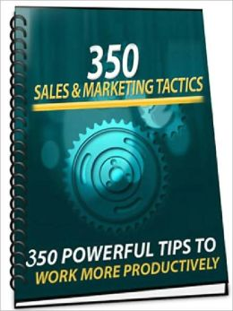 350 Sales Marketing Tactics
