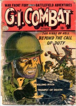 GI Combat Number 1 War Comic Book
