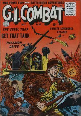 GI Combat Number 38 War Comic Book