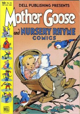 Mother Goose and Nursery Rhyme Comics Childrens Comic Book