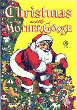 Christmas With Mother Goose Childrens Comic Book