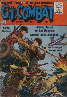 GI Combat Number 28 War Comic Book