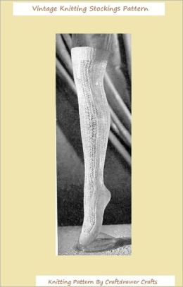Knit a Vintage Pair of Stocking Knitting Patterns from the 1940's - Vintage Stockings to Knit