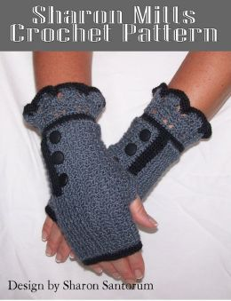 Sharon Mitts Crochet Pattern