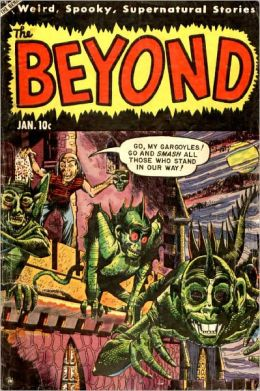 Beyond Number 24 Horror Comic Book