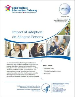 Impact of Adoption on Adopted Persons