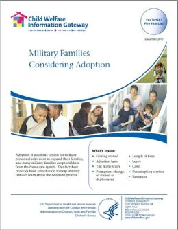 Military Families Considering Adoption