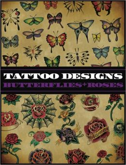Tattoo Designs: Butterflies and Roses