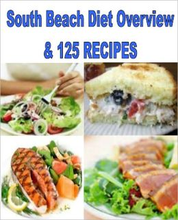 THE SOUTH BEACH DIET BOOK THREE: South Beach Diet Overview, Glycemic Index and 125 Recipes - Phase 1, most carbs are eliminated. Phase 2, healthy carbs are reintroduced without processed carbs. Phase 3, adherents are urged to stick with the same foods.