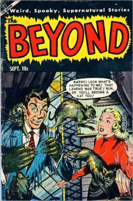 Beyond Number 22 Horror Comic Book