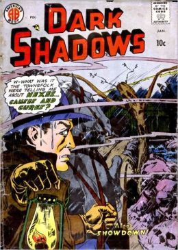 Dark Shadows Number 2 Horror Comic Book