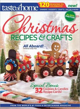 Taste of Home Christmas Recipes & Crafts