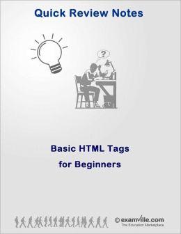 HTML for Beginners: Sample Codes