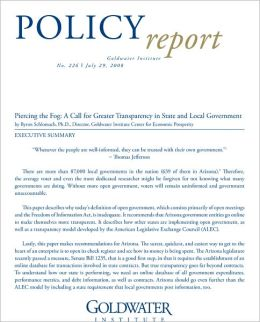 Piercing the Fog: A Call for Greater Transparency in State and Local Government