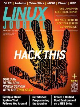 Linux Journal November 2011