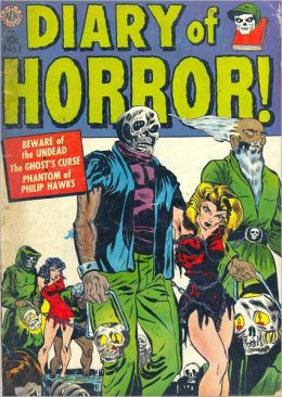 Diary of Horror number 1 Horror Comic Book