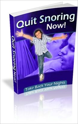 Quick Snoring Now - Take Back Your Nights!