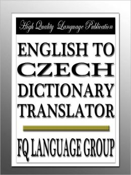 czech to english dictionary free